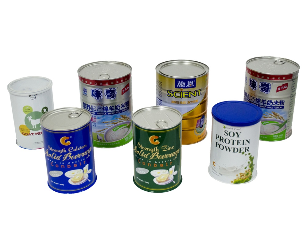 infant formula packaging